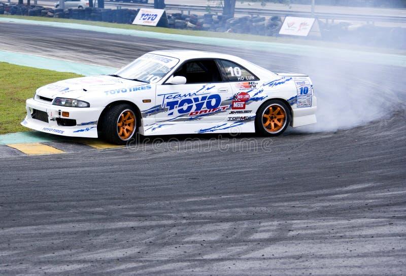 Drift Racing stock photography