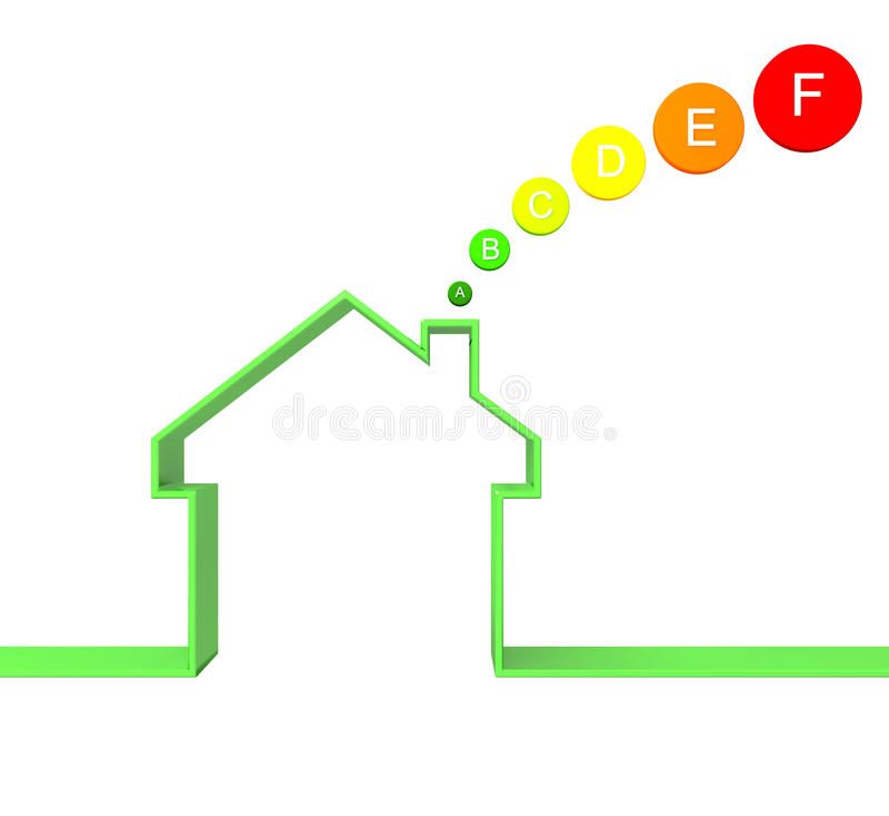 driftigt hus för grupp vektor illustrationer