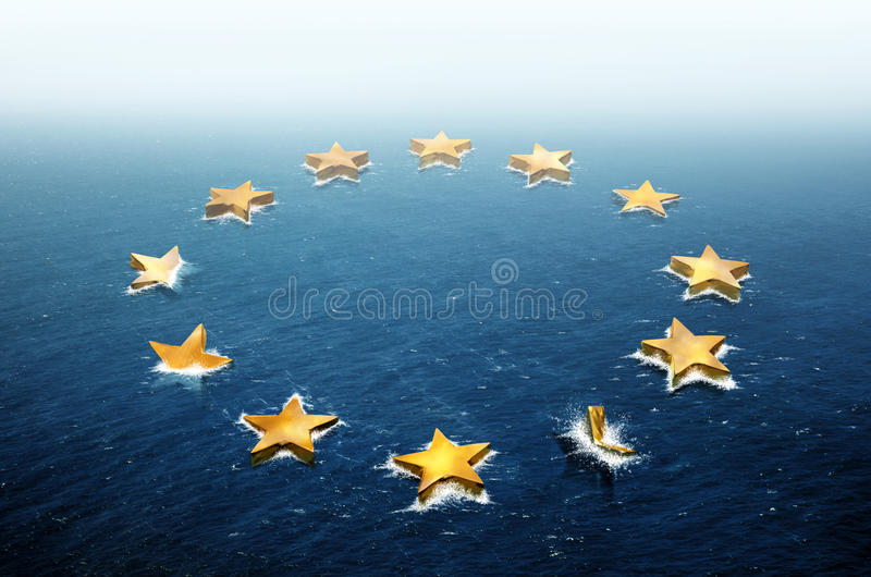 Download Drifting Europe stock illustration. Image of business - 26606375