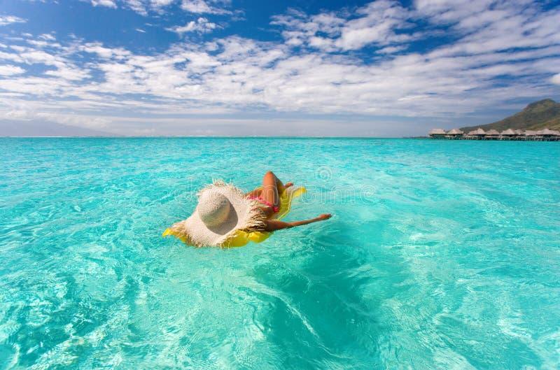 Download Drifting Paradise Woman Royalty Free Stock Photos - Image: 10663068
