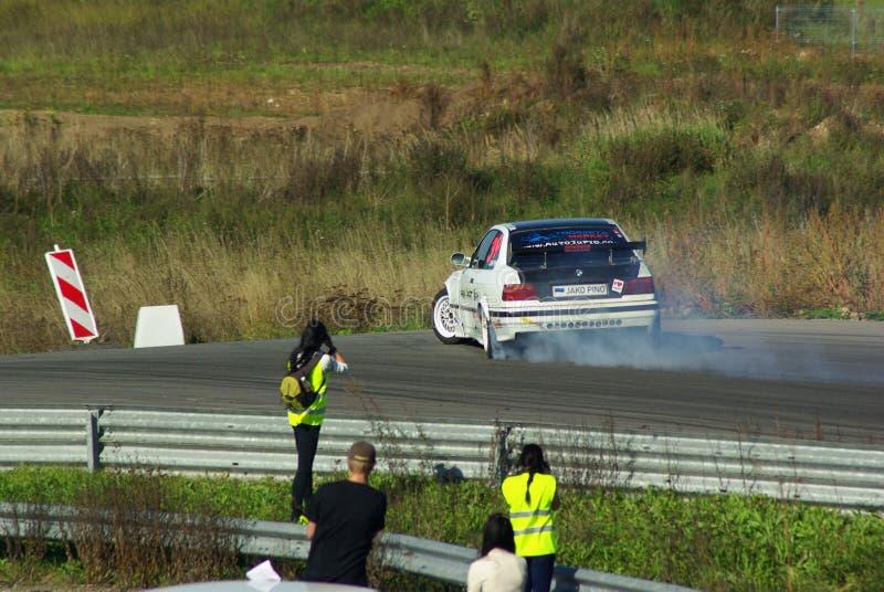 Drifting stock photo