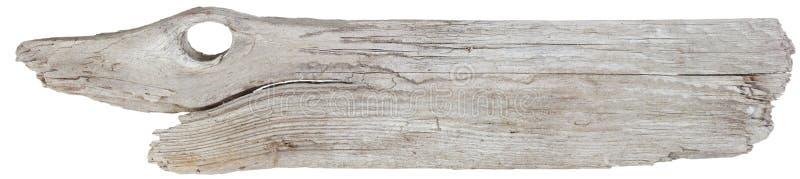 driftwoodplanka arkivbild