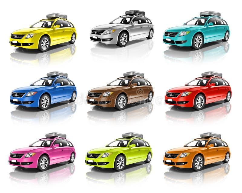 Drijf het Voertuigconcept van de auto Automobiel Eigentijds Aandrijving stock foto