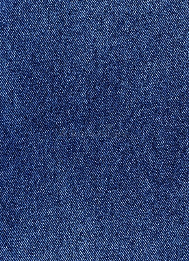 Dril de algodón azul marino imagen de archivo