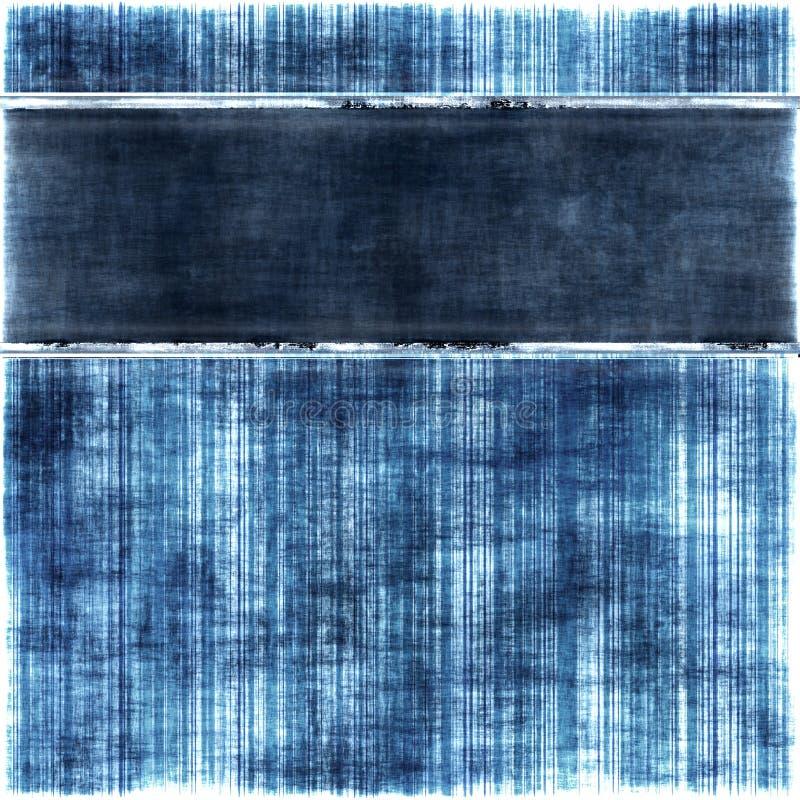 Dril de algodón descolorado stock de ilustración