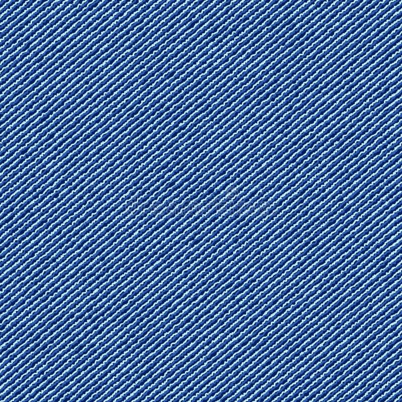 Dril de algodón inconsútil de la textura stock de ilustración