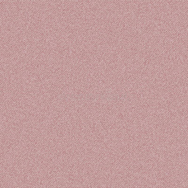 Dril de algodón rosado de la textura del vector ilustración del vector