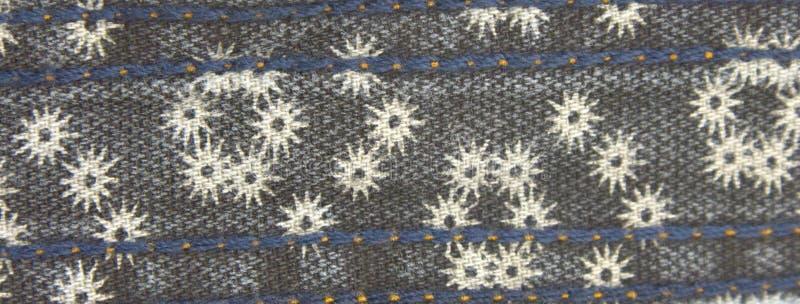 Dril de algodón sucio con efecto floral descolorado imágenes de archivo libres de regalías