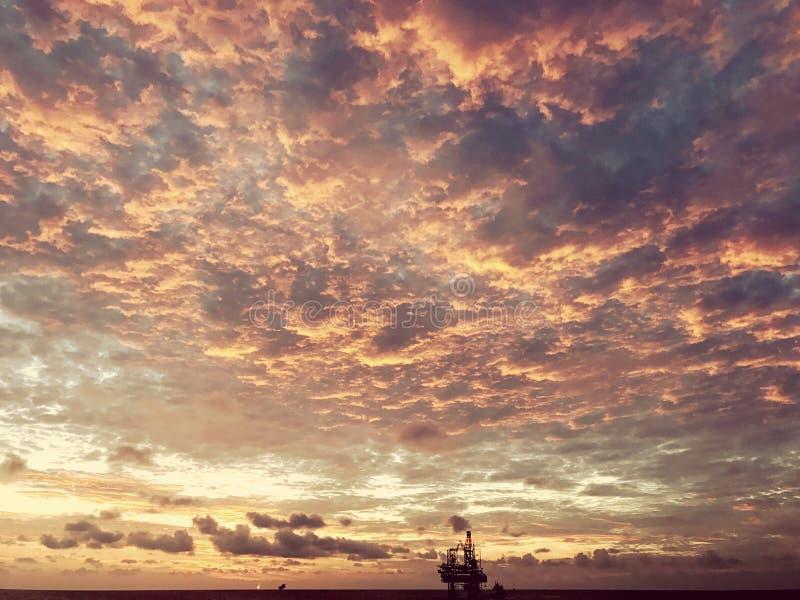 driling的船具 免版税图库摄影