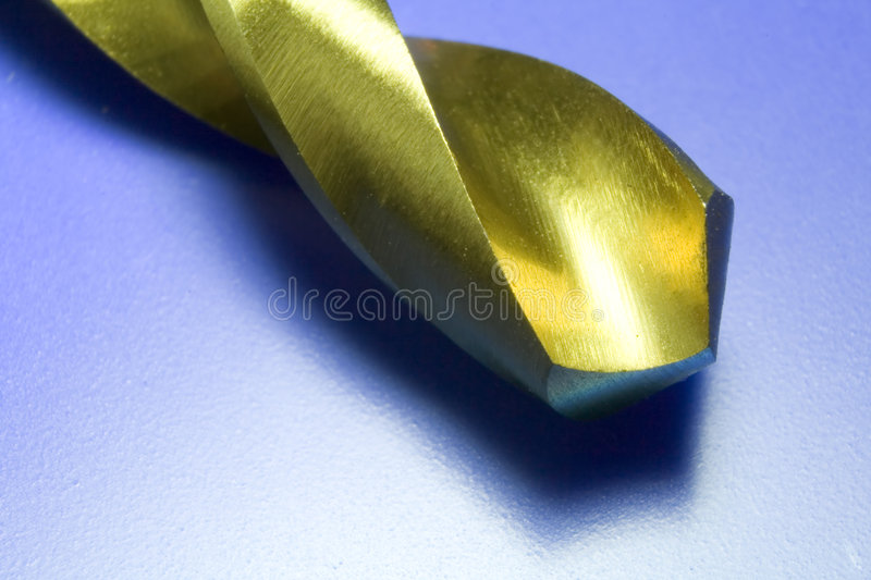 A Drill Bit. Close Up Of A Drill Bit royalty free stock image