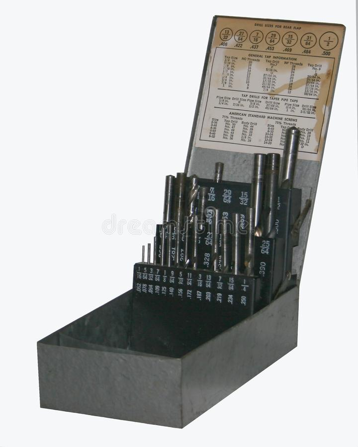 Drill Bits Stock Photo