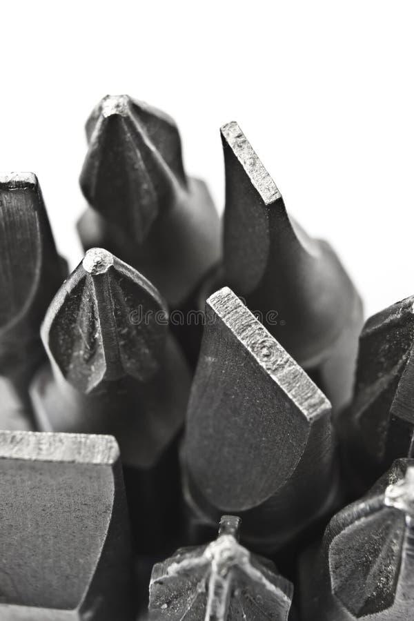 Free Drill Bits Macro Royalty Free Stock Photography - 25109037