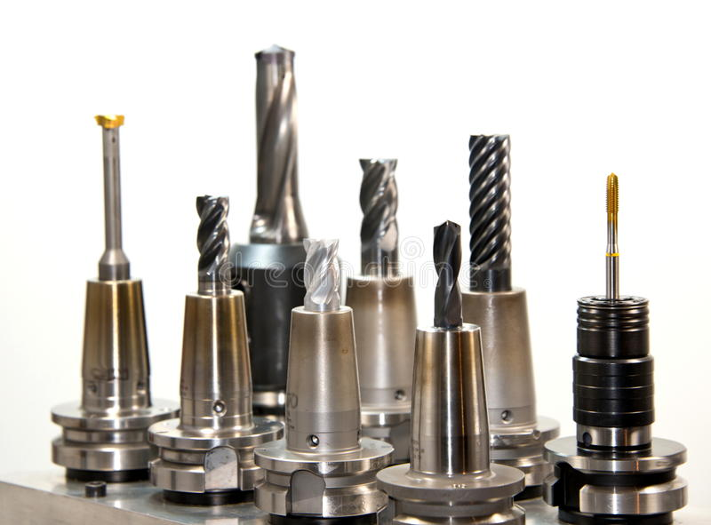 Drill bits. Work Object, construction. Image of drill bits stock photography