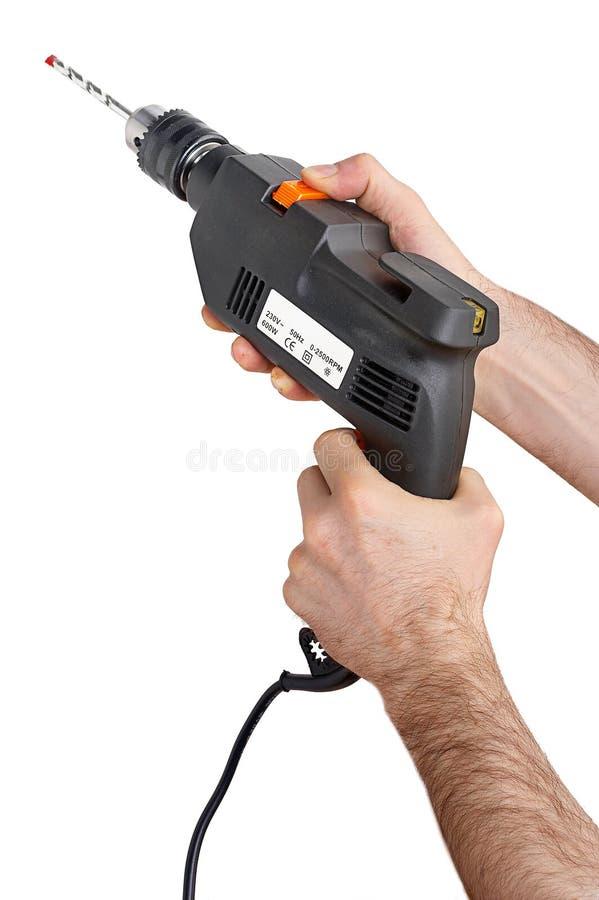 Drill - Bohrmaschine stock photography