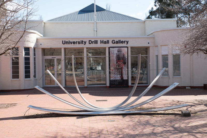 Drill Hall Gallery, ANU royalty free stock image