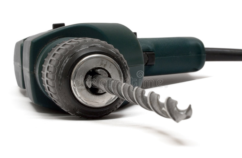 Drill Machine (Front View) stock photography