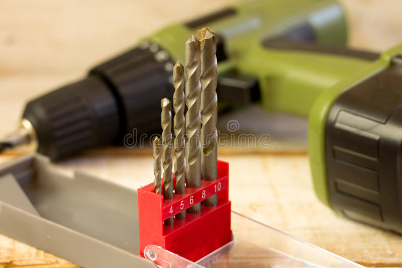 Drill royalty free stock photo