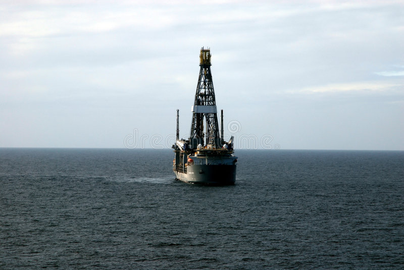Download Drill Ship 4 stock photo. Image of deepwater, satellite - 1595240