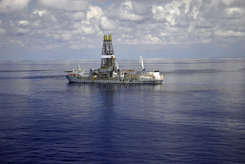 Download Drill Ship 5 stock photo. Image of water, boat, deepwater - 3066350