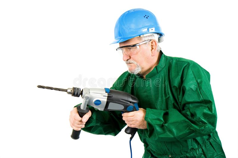 Download Drilling stock photo. Image of protective, hardhat, occupation - 13763404
