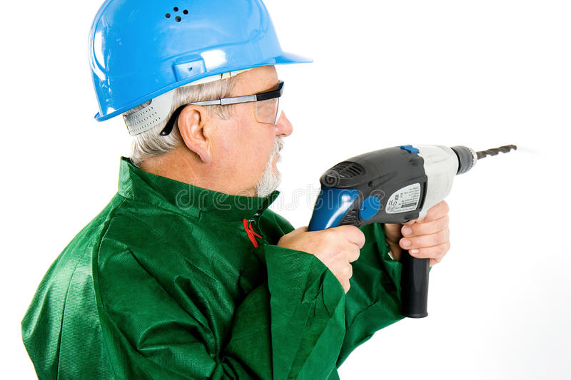 Download Drilling stock photo. Image of male, work, renovate, person - 13837670