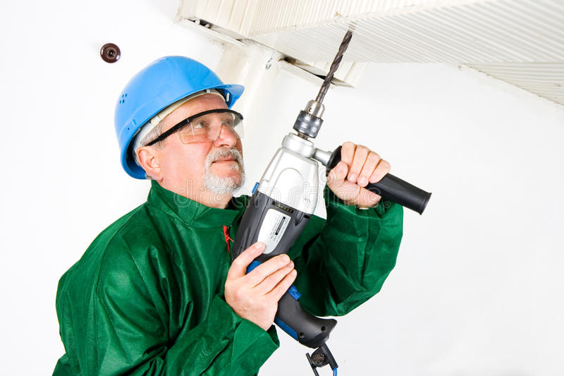 Drilling royalty free stock photos