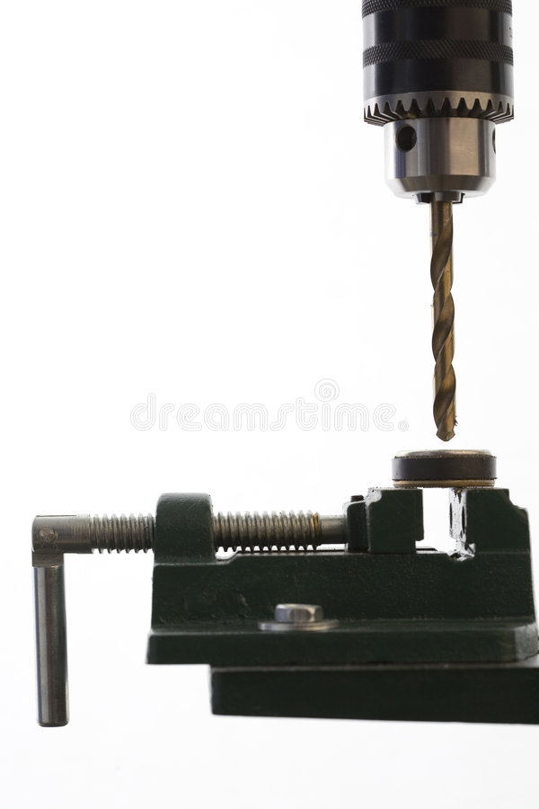 Download Drilling In Action Stock Photo - Image: 6048160