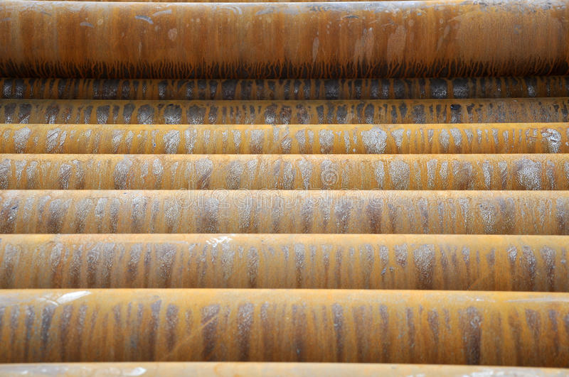 Download Drilling pipеs stock image. Image of industrial, color - 21216119