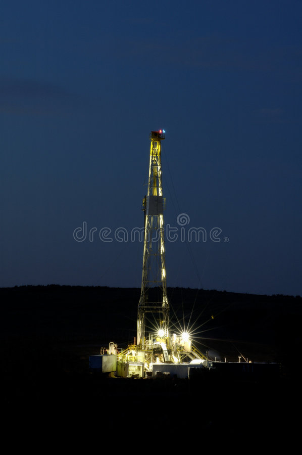 Free Drilling Rig Royalty Free Stock Photography - 305577