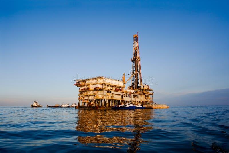 Drilling Rig - Horizontal royalty free stock photos
