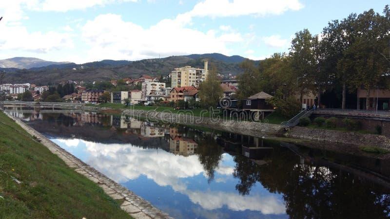 Drina河 免版税库存图片