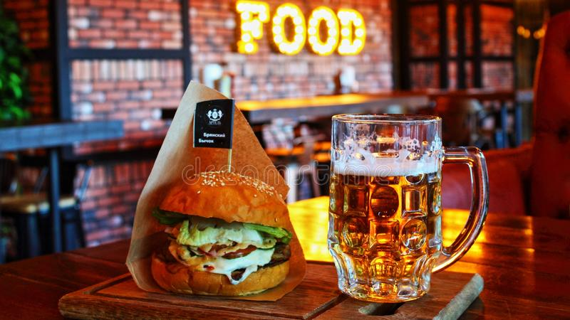 Drink, Alcoholic Beverage, Beer, Fast Food stock photography