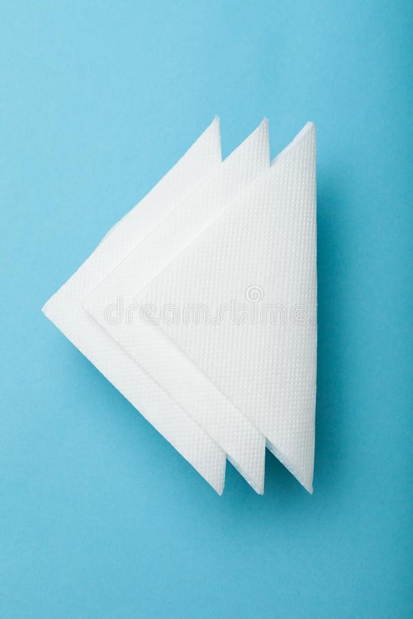 Drink bar serviette paper napkin mockup.  stock photo