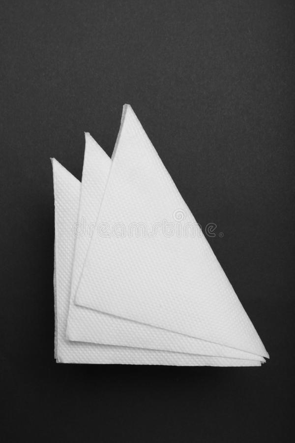 Drink bar serviette paper napkin mockup.  stock photos