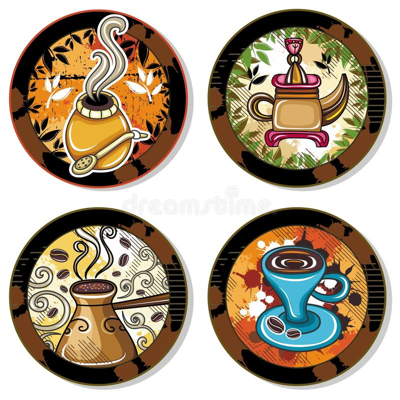 Drink Coasters 4 Royalty Free Stock Photos