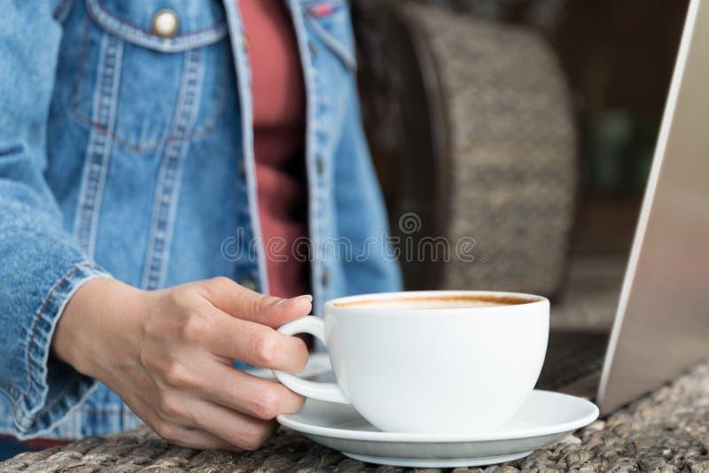 Drink coffee stock photo