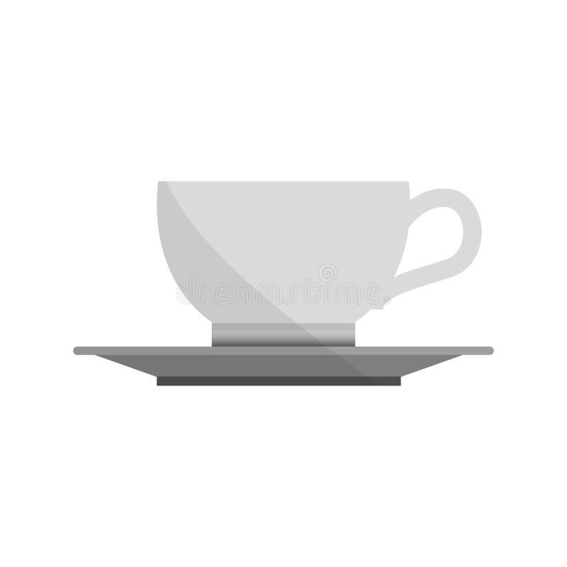 Drink för kaffekopp royaltyfri illustrationer
