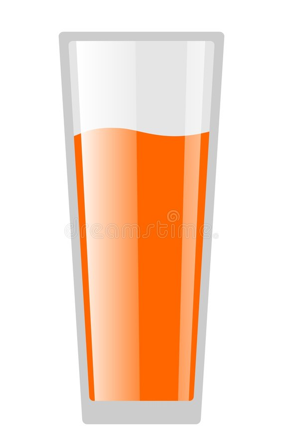 Download Drink Glass stock illustration. Image of refreshment, healthy - 8546263