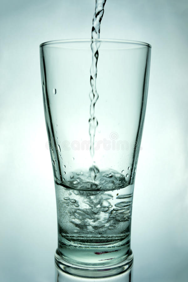 Drink a glass of water stock photos