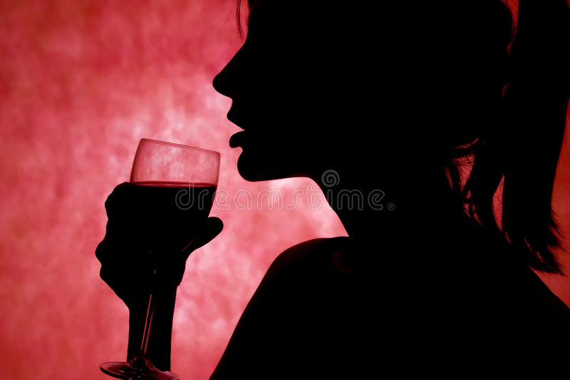 Drink in hand royalty free stock images