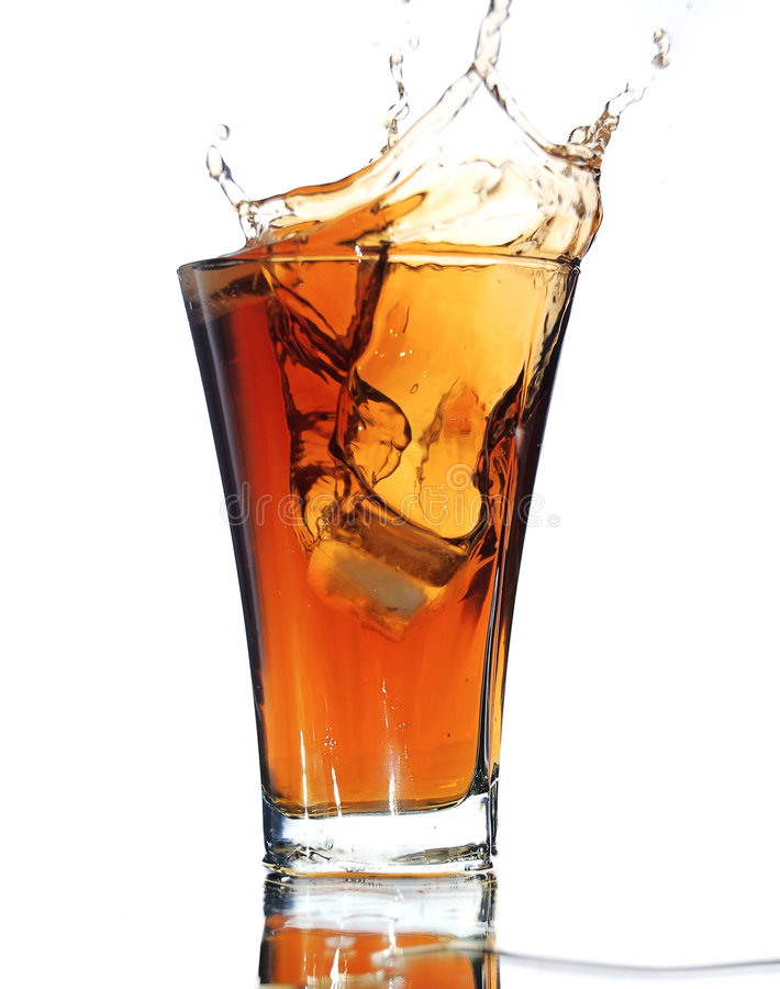 drink isolerad slapp färgstänkwhite fotografering för bildbyråer