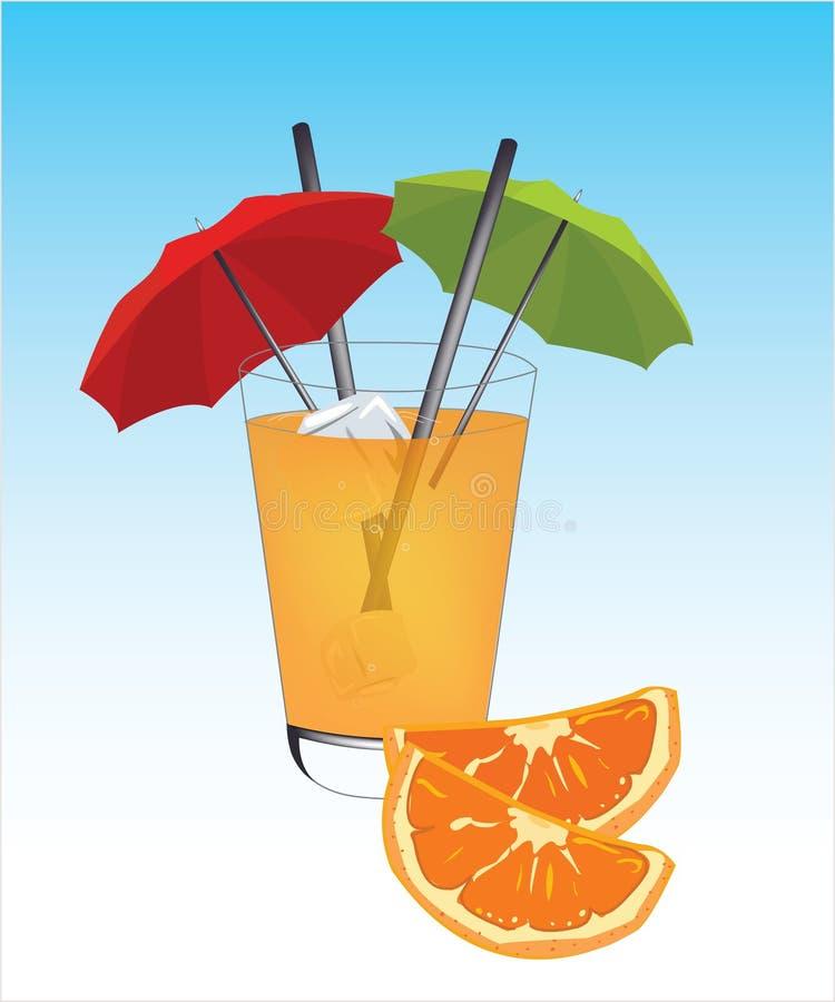 Drink jus d'orange royalty-vrije stock foto's