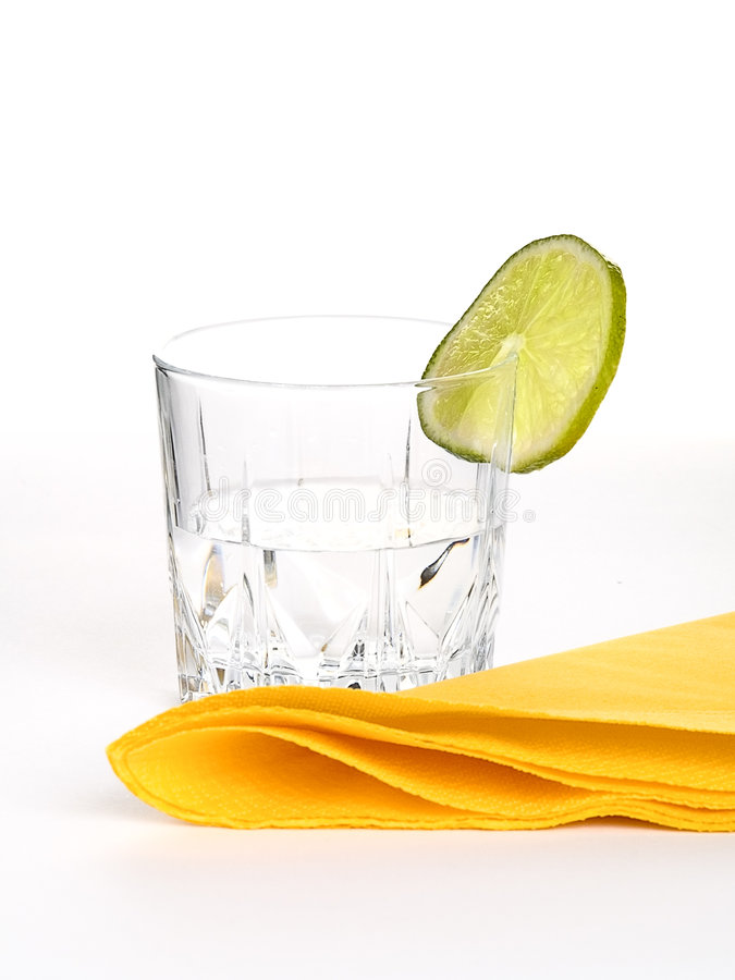 Drink lime royalty free stock photo