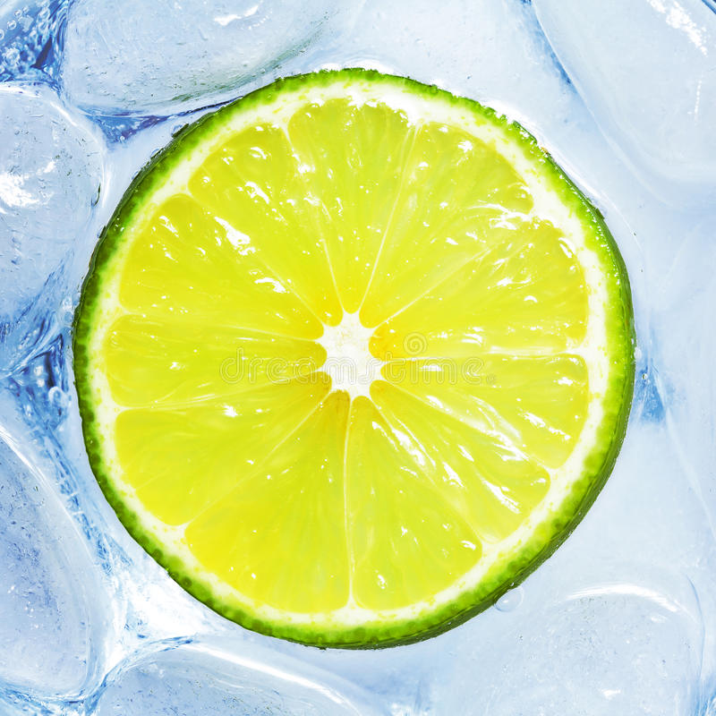 Download Drink with lime stock image. Image of above, frozen, length - 27842967