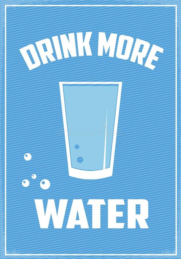 Download Drink meer water stock illustratie. Illustratie bestaande uit geneeskunde - 54080754