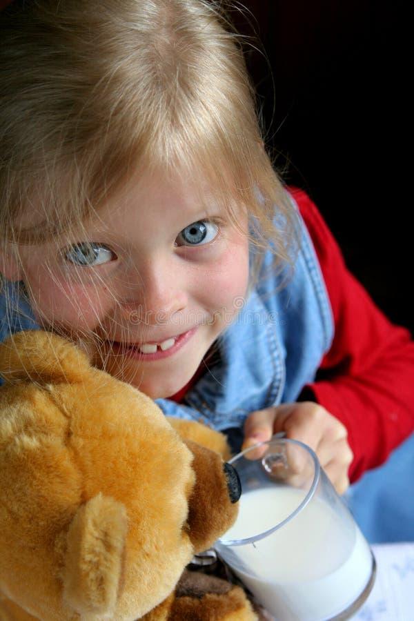 Drink milk! stock photo