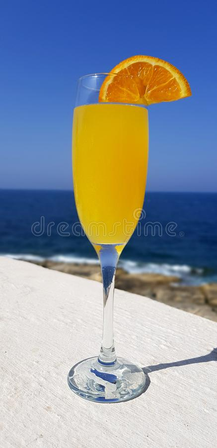 Drink Mimosa stock image