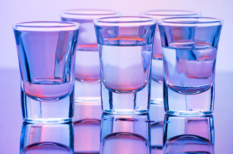 Drink Shots Royalty Free Stock Images