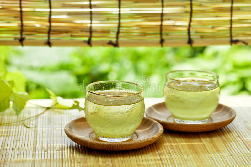 Drink of summer in Japan stock photo