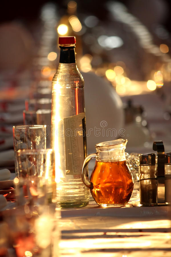 Download Drink on table stock image. Image of eatery, schnapps - 27807589
